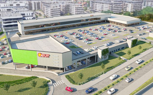 Tak będzie wyglądać centrum handlowe Atut Ruczaj 2