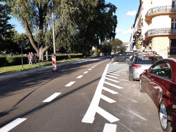 Krakowska Tarcza dla Mobilności na ulicy Dietla