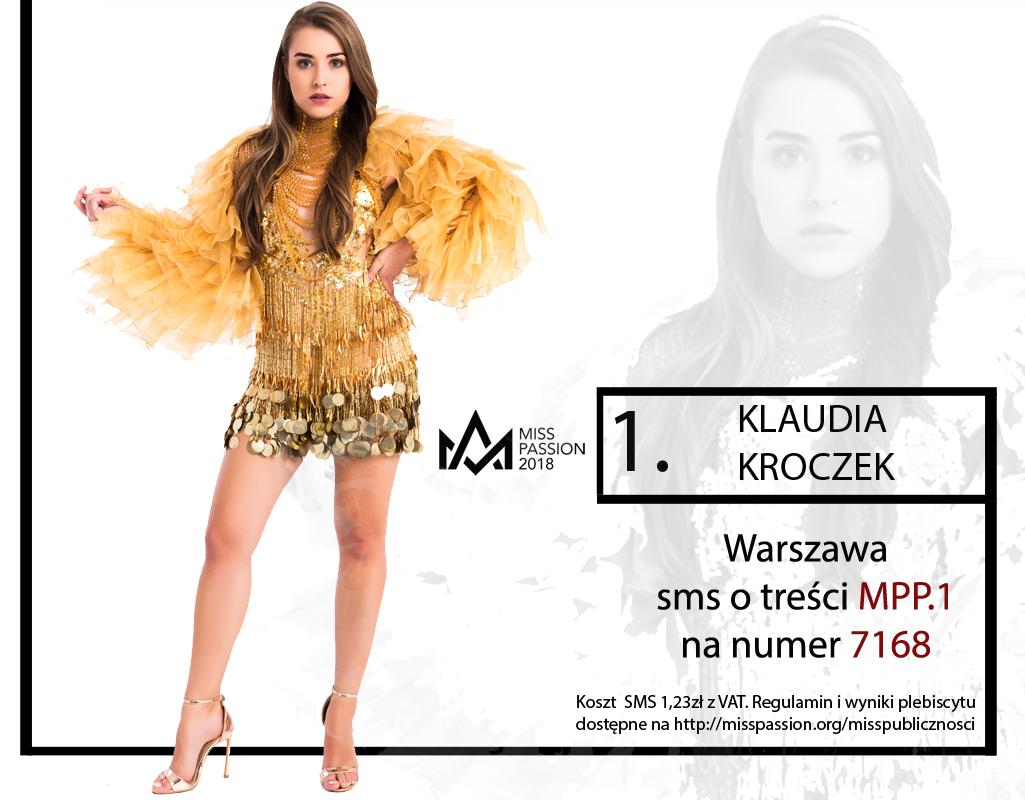 1. Klaudia Kroczek