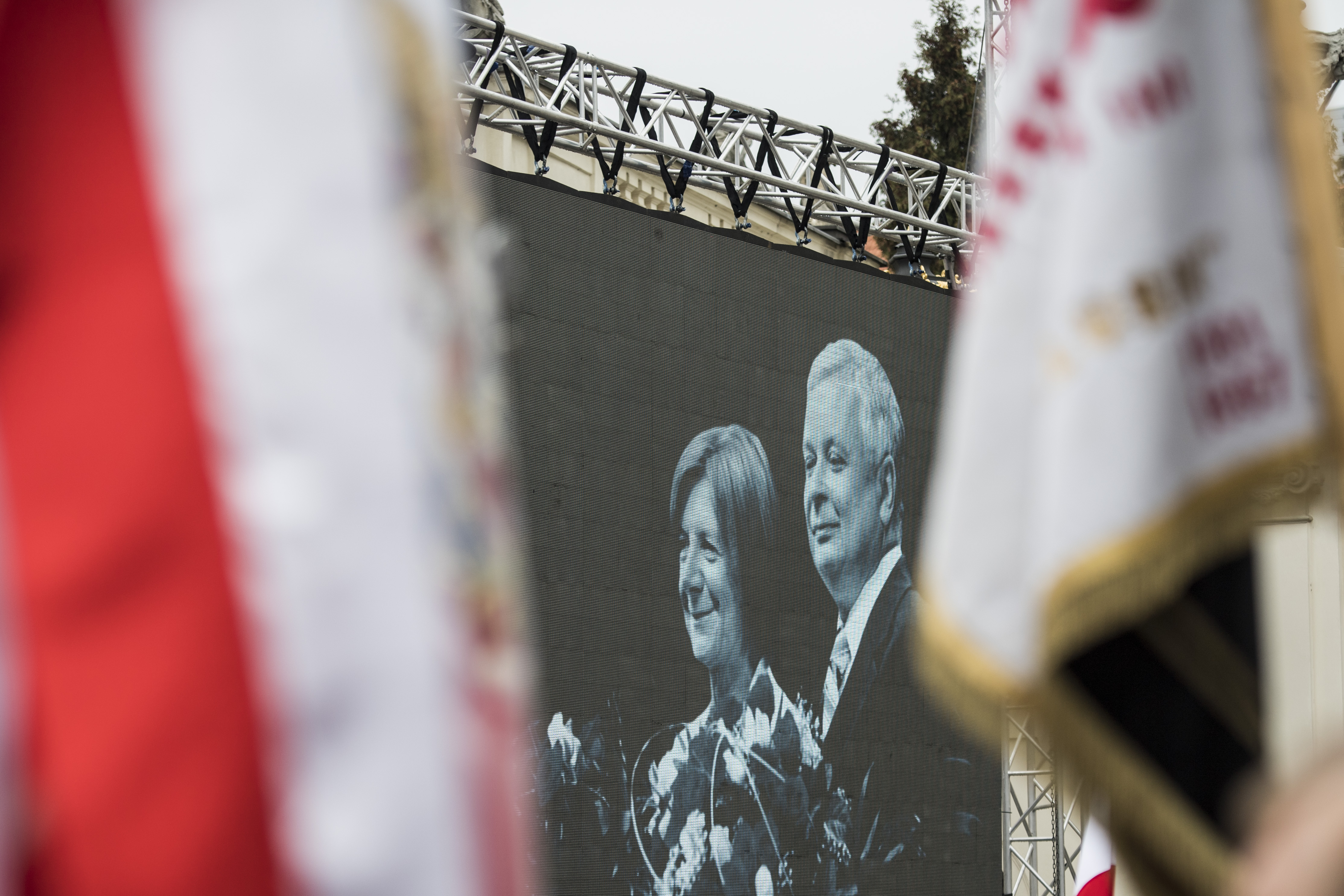 Lech Kaczyński, Prezydent RP i Maria Kaczyńska, Małżonka Prezydenta RP