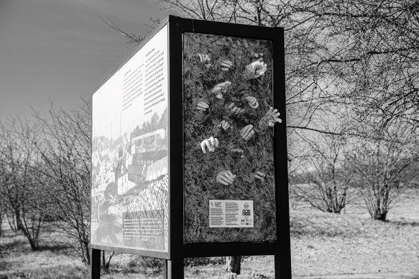 Tak powstała instalacja upamiętniająca więźniów KL Plaszow