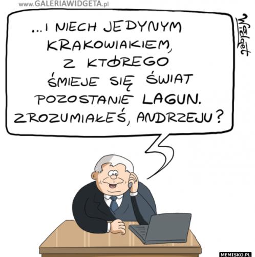 Memy o lagunie z Krakowa