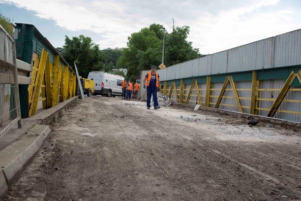 Most na Piastowskiej zamknięty