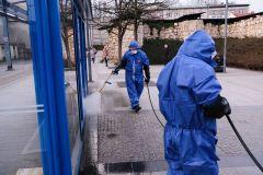 MPO czyści miasto płynem dezynfekcyjnym