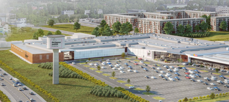 Nowe centrum handlowe przy ul. Nowohuckiej