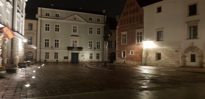 Opustoszały Kraków