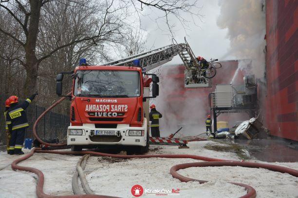 Pożar Archiwum Miejskiego trwa już czwartą dobę