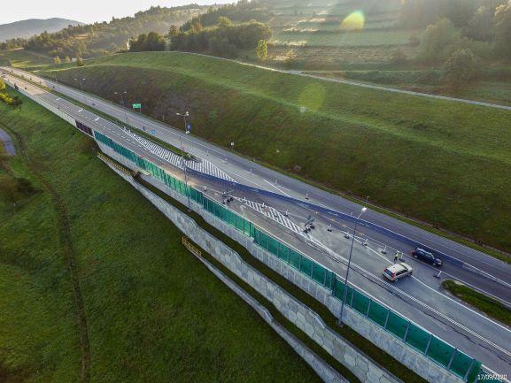 Tak dziś wygląda droga S7 między Lubniem a Naprawą