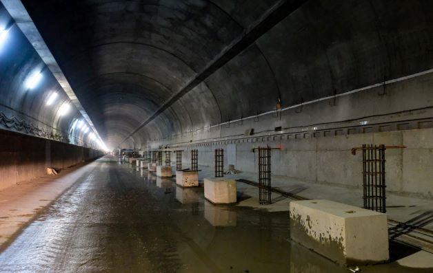 Tak buduje się tunel pod Luboniem Małym