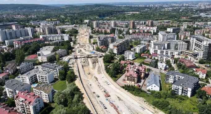 Tak się buduje Trasa Łagiewnicka