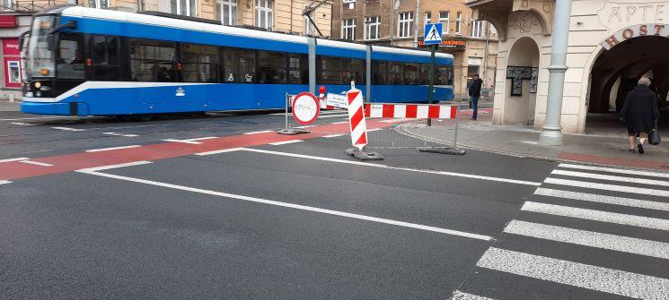 Ulica Krakowska czeka na samochody