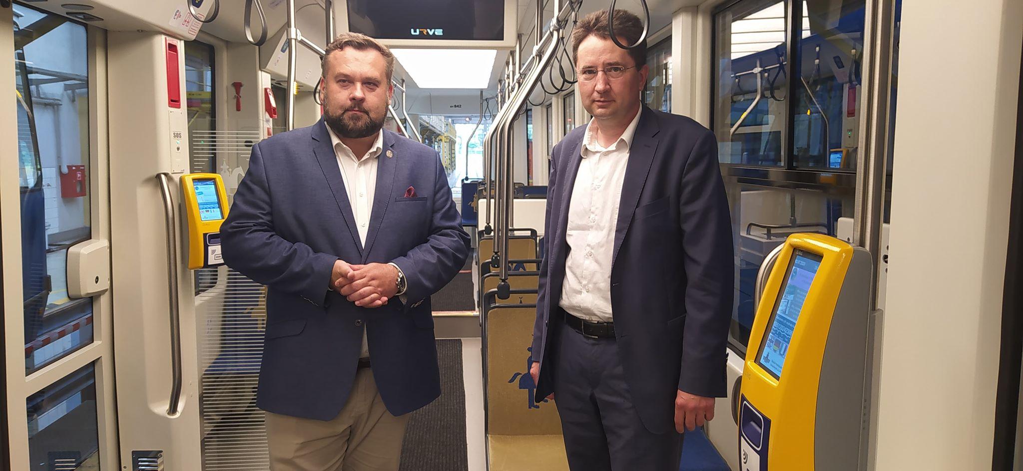 Wizyta Przewodniczącego Rady Miasta Krakowa w MPK S.A.