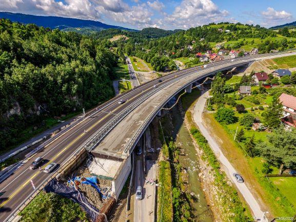 Tak  buduje się droga ekspresowa S7 Lubień - Rabka