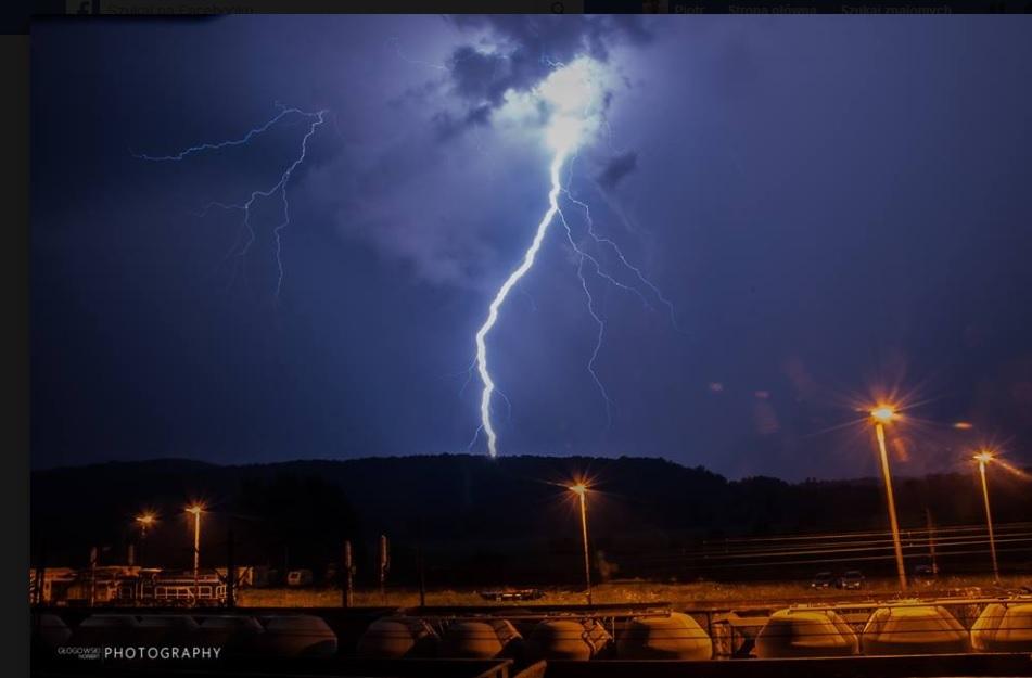 Burza w Krzeszowicach