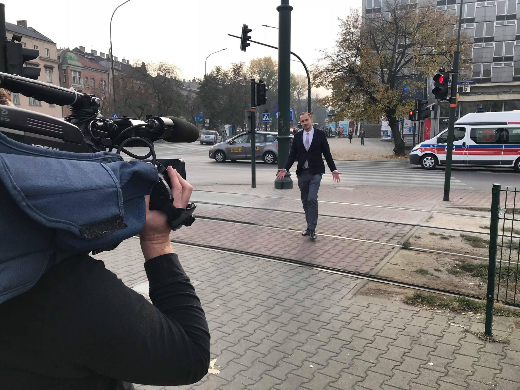 Poseł z Krakowa przeszedł do historii – jako pierwszy miał wystąpienie w Sejmie on-line