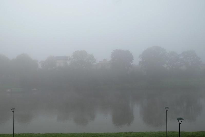Kiedy ostatni raz w Krakowie nie było mgły? Uważajcie też na gołoledź