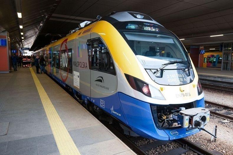 Ostatni etap prac na linii kolejowej do Skawiny. W Krakowie w kilkanaście minut
