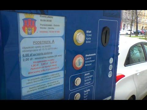 Jest decyzja w sprawie opłat za parkowanie w Krakowie