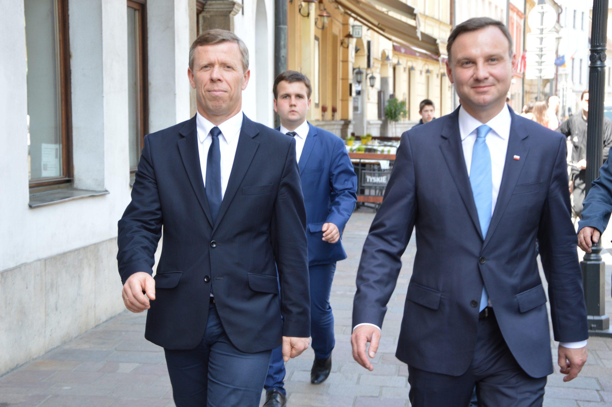 Były wojewoda małopolski awansuje w Kancelarii Prezydenta