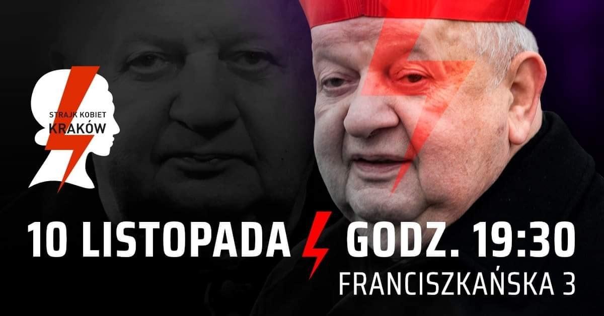 Fot. Ogólnopolski Strajk Kobiet – Kraków