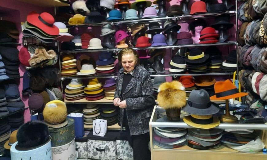 Pani Maria w sklepie - fot. Facebook Joanny Lis