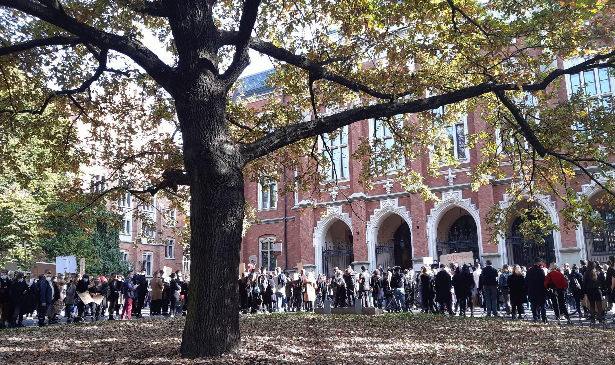 """""""To jest wojna"""" wraca na ulice Krakowa. W niedzielę Krakowski Strajk Studencki. Gdzie i o której?"""