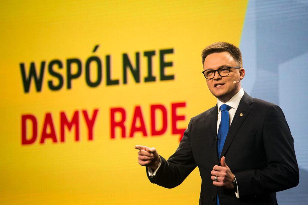 Polska 2050 Szymona Hołowni coraz bliżej PiS. Złe wieści także dla Koalicji Obywatelskiej