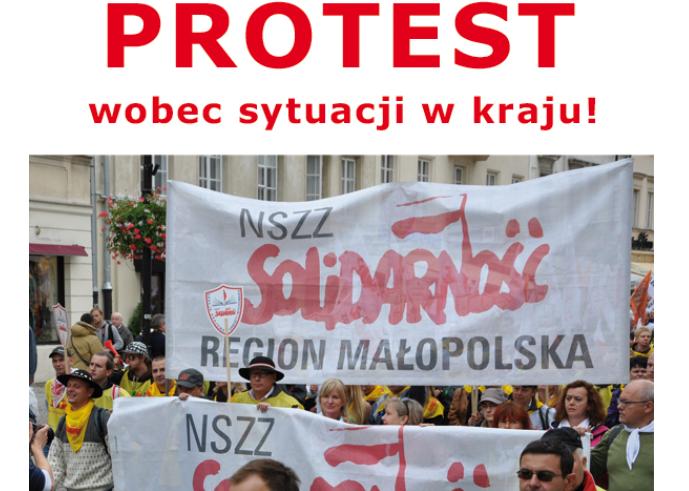 Kartka z kalendarza – 19 lutego. A jeszcze nie tak dawno w Krakowie były takie protesty….