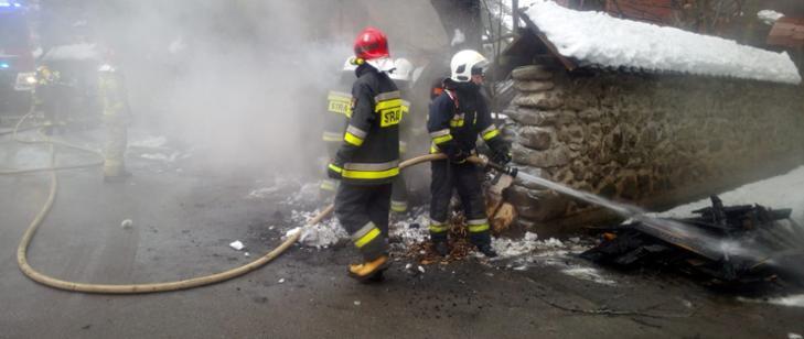 Fot. Straż Pożarna w Suchej Beskidzkiej